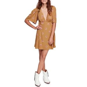 FREE PEOPLE Clove Mockingbird Mini Dress